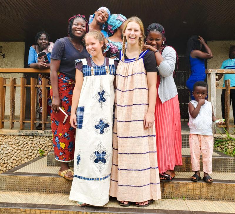 REACH, intern, Ivory Coast, Claire, Richardson